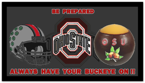 ALWAYS HAVE YOUR BUCKEYE ON