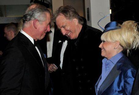 Alan Rickman and Prince Charles