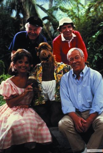 Alf and Gilligan's Island Cast