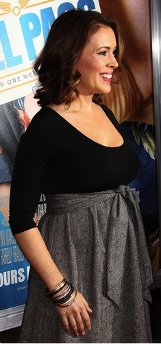 Alyssa at the Hall Pass Premiere