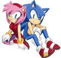 Amy & Sonic