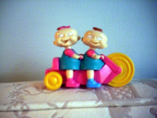 An old Rugrats toy from Burger King