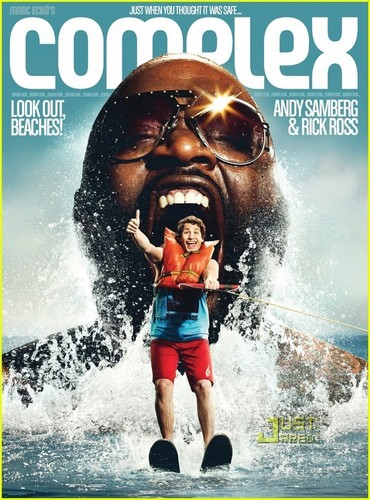 Andy Samberg & Rick Ross Cover 'Complex' June/July 2011