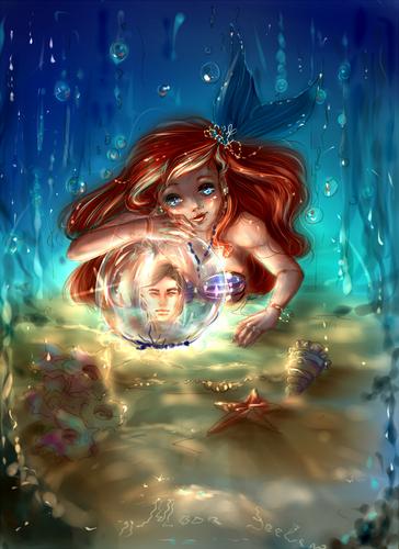 Ariel Hintergrund entitled Ariel