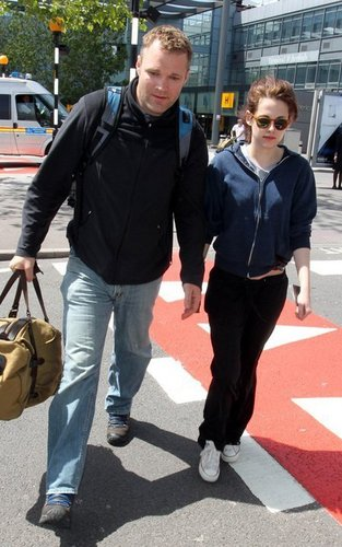 Arriving in London (May 24, 2011).