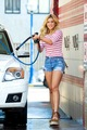 Ashley Is Washing A Car - ashley-roberts photo