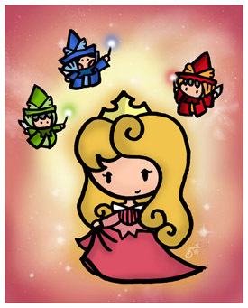 Princess Aurora images Aurora and Faries wallpaper and background photos