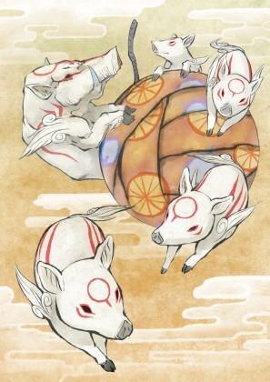 Bakugami & Children