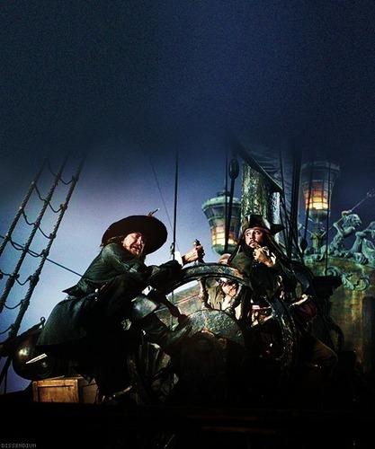 Barbossa & Jack