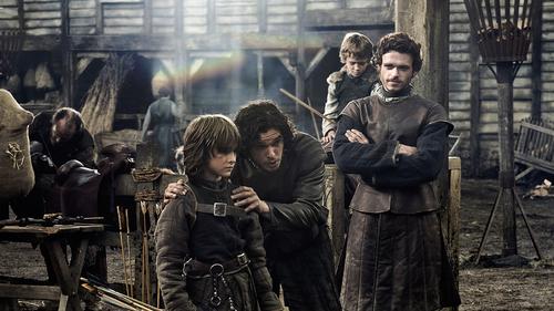 Bran, Jon, Robb & Rickon
