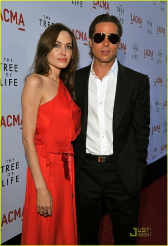 "Brangelina @ ""Tree of Life' Premiere"