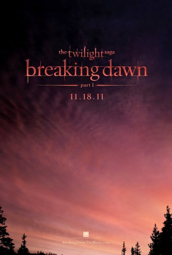 Breaking Dawn Teaser Poster