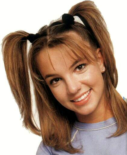 Britney Spears achtergrond with a portrait entitled Brit 1998 4 Full (1)
