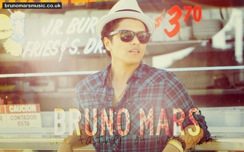 Bruno Mars fond d'écran probably containing a well dressed person and a sign called Bruno Mars
