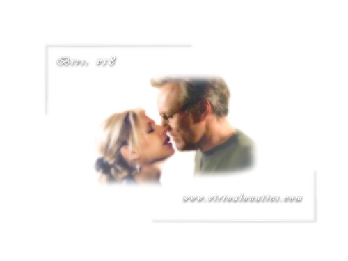 Buffy/Giles kiss
