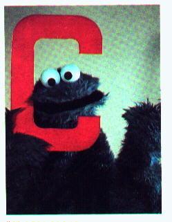 Sesame Street wallpaper titled C is for Cookie Monster