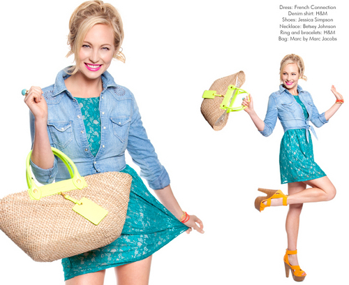 Candice Accola in Style File Daily