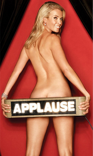 Chelsea Handler wallpaper entitled Chelsea Handler Naked in Playboy
