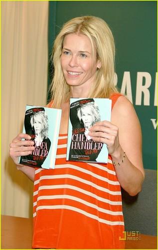 Chelsea Handler Tells Lies in New York City