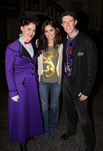 """Cheryl Cole backstage at the """"Mary Poppins"""" Musical on Broadway, May 17"""