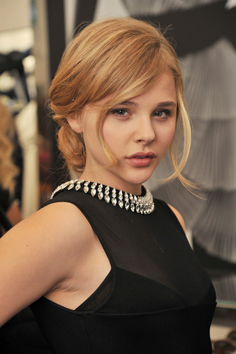 Chloe Moretz at the Azzaro Store launch in London.