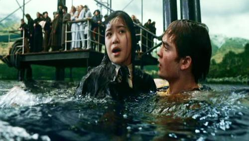 Cho Chang with Cedric Diggory