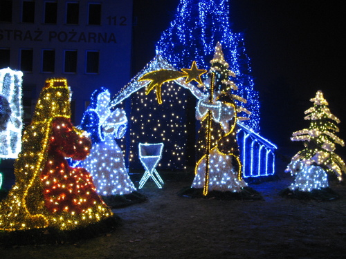 Christmas exhibition in Tarnow, Poland