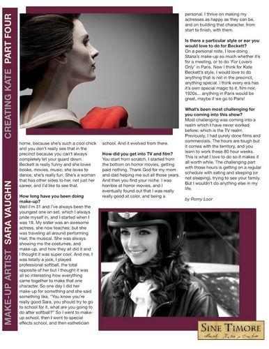 Creating Kate Part 4 - Make up
