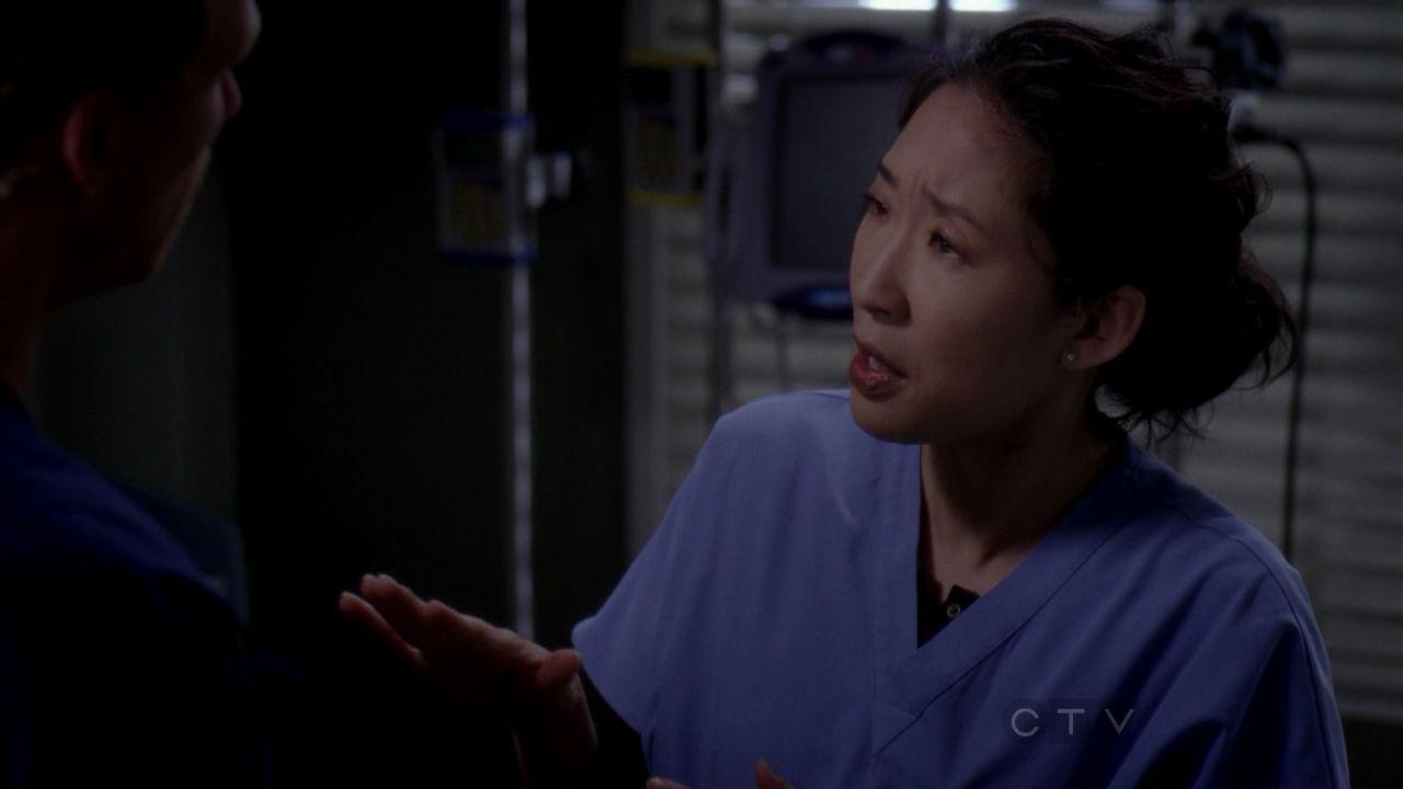 Kevin McKidd Sandra Oh Cristina Yang Greys Anatomy