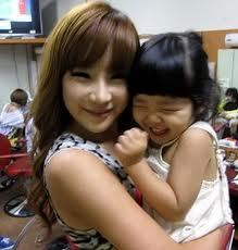 Cute Bom and girl