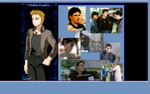 Dally Winston/ Matt Dillon - the-outsiders Wallpaper