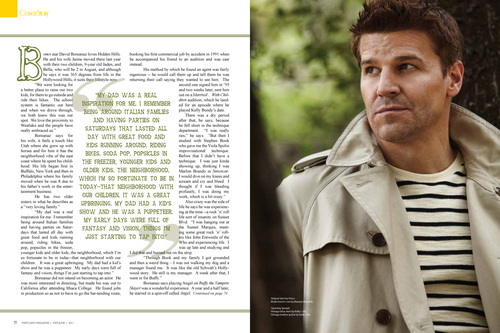 David in West Lake magazine june 2011