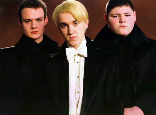 Draco Malfoy with vrienden
