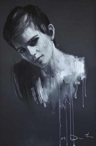 Emma Watson portraits द्वारा Mark Demsteader
