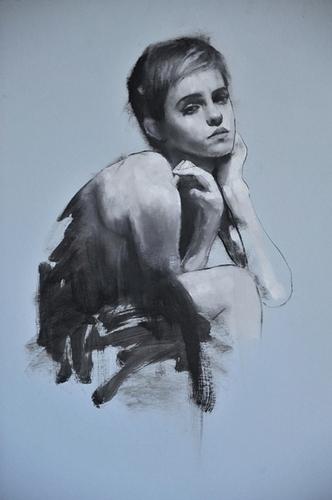 Emma Watson portraits سے طرف کی Mark Demsteader