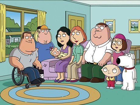 Les Griffin fond d'écran with animé called Family Guy