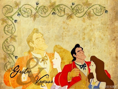 Vanessa and Gaston wallpaper entitled Gason & Vanessa wallpaper