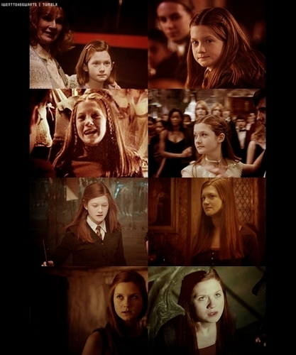 Ginny through the years...