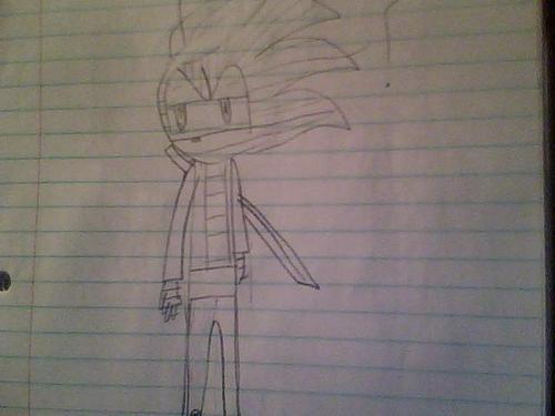 Hallow the Hedgehog (Shade's Alternate Universe Self)