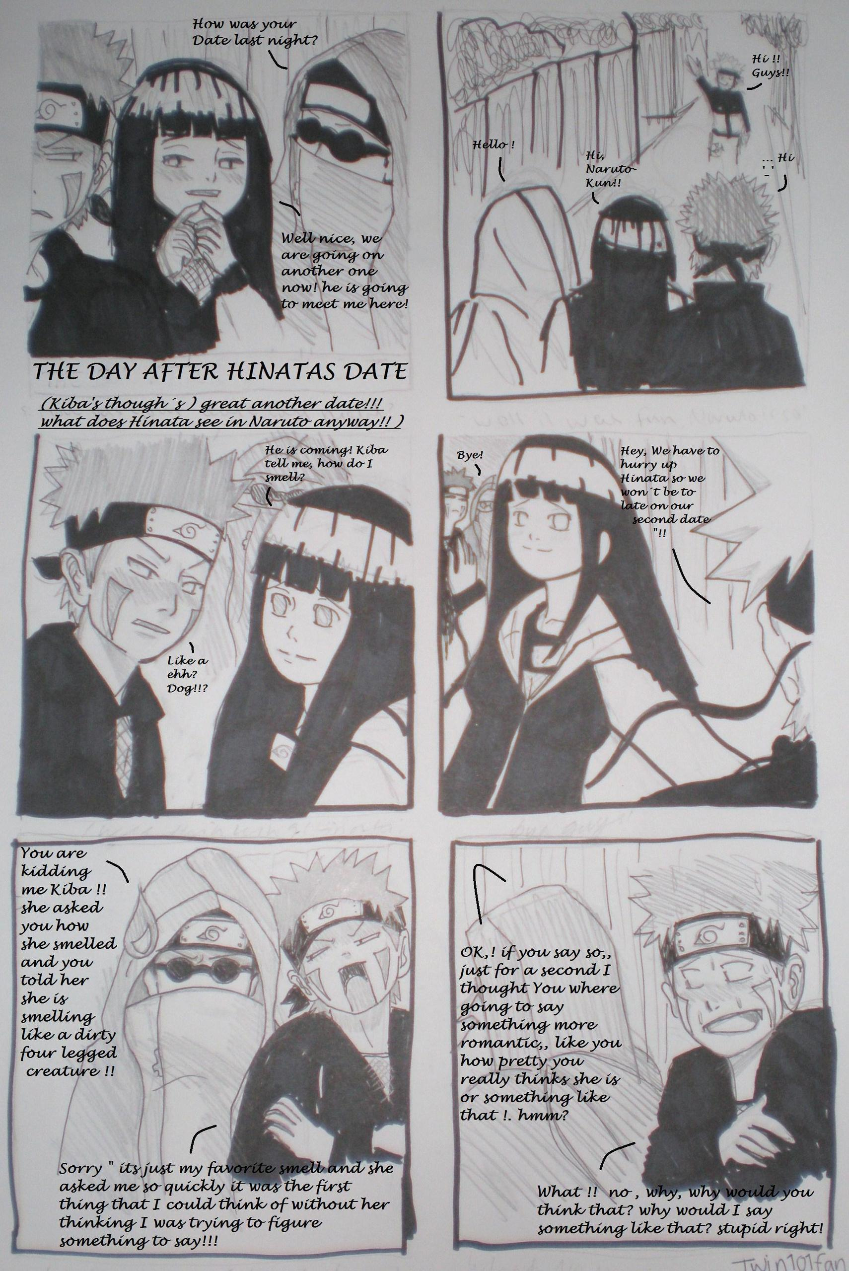 Naruto and hinata first date fanfiction