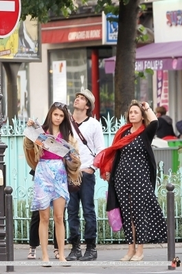 Ian & Nina out in Paris