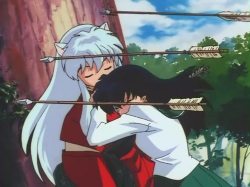 "anime animal guys wallpaper possibly with anime titled InuYasha [InuYasha Episode 1 - ""The Girl Who Overcame Time And The Boy Who Was Just Overcome]"