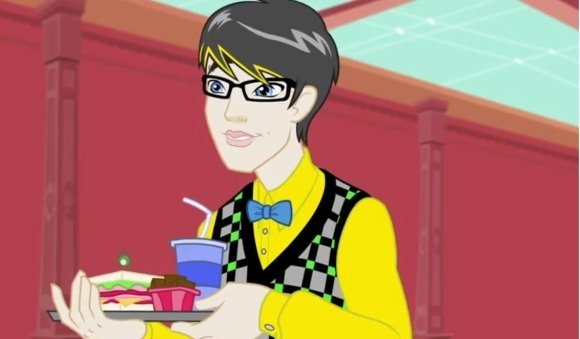 Jackson made his debut in the latest mh episode monster - Monster high jackson ...