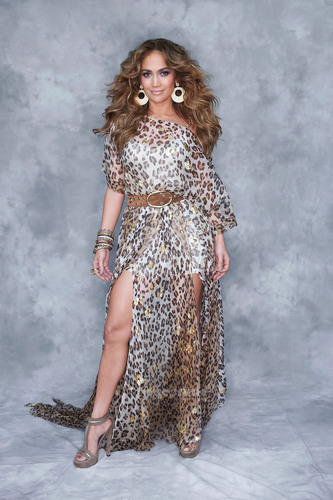 Jennifer Lopez poses for American Idol Portraits in L.A