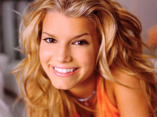 Jessica Simpson wallpaper with a portrait called Jessica Wallpaper