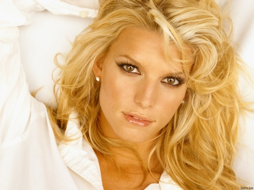 Jessica Simpson wallpaper containing a portrait called Jessica Wallpaper