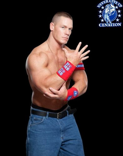John Cena Never Give Up Red Promos - john-cena Photo