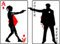 Joker & Harley Cards - the-joker-and-harley-quinn fan art