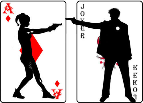 Joker & Harley Cards