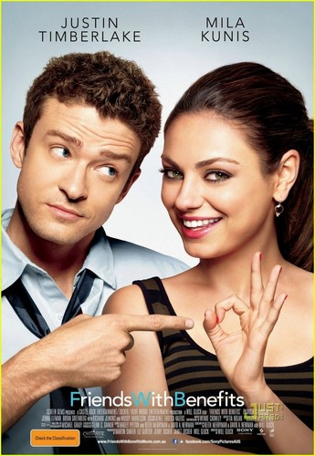 Justin Timberlake & Mila Kunis: 'Friends With Benefits' Poster!